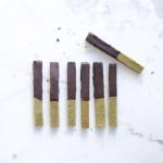 Barritas de Matcha y Chocolate ~Sin gluten~